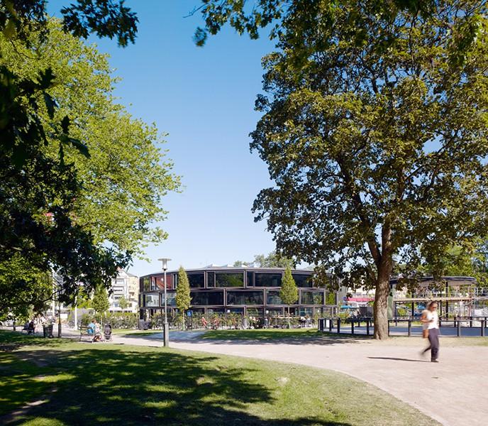 Orangeriet Borås stadspark Wingårdhs