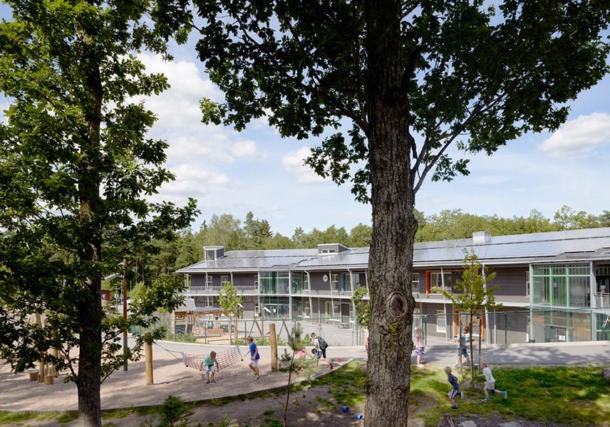 Stadsskogenskolan, Alingsås Liljewall arkitekter