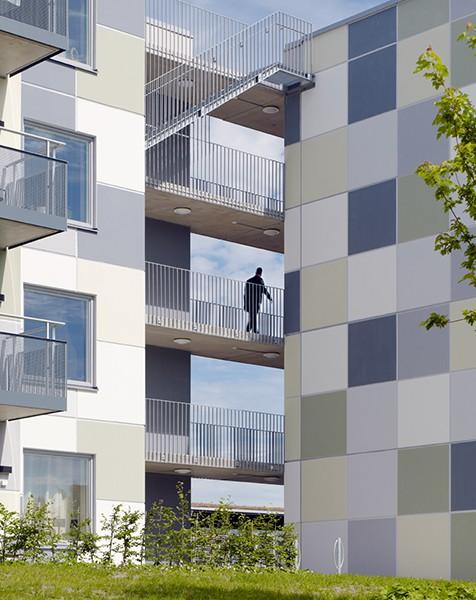 Fyrväpplingsgatan, Göteborg KUB arkitekter